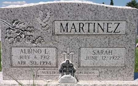 MARTINEZ, ALBINO - Jefferson County, Colorado | ALBINO MARTINEZ - Colorado Gravestone Photos