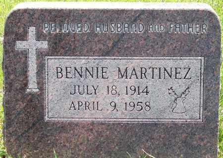 MARTINEZ, BENNIE - Jefferson County, Colorado   BENNIE MARTINEZ - Colorado Gravestone Photos
