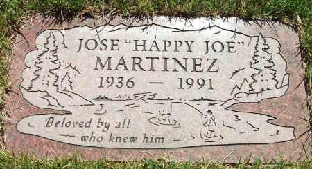 MARTINEZ, JOSE HAPPY JOE - Jefferson County, Colorado | JOSE HAPPY JOE MARTINEZ - Colorado Gravestone Photos