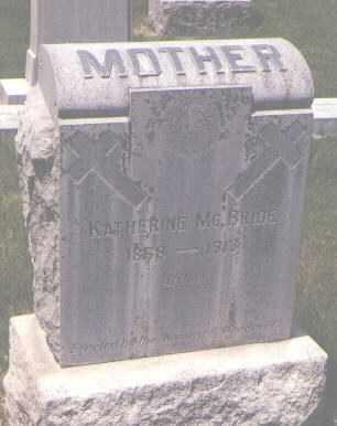 MCBRIDE, KATHERINE - Jefferson County, Colorado   KATHERINE MCBRIDE - Colorado Gravestone Photos