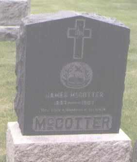 MCCOTTER, JAMES - Jefferson County, Colorado | JAMES MCCOTTER - Colorado Gravestone Photos