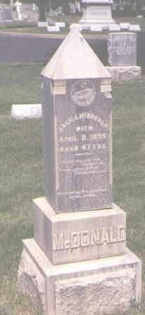 MCDONALD, JOHN J. - Jefferson County, Colorado | JOHN J. MCDONALD - Colorado Gravestone Photos