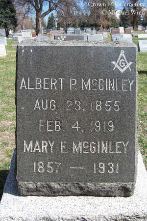 MCGINLEY, ALBERT P. - Jefferson County, Colorado | ALBERT P. MCGINLEY - Colorado Gravestone Photos