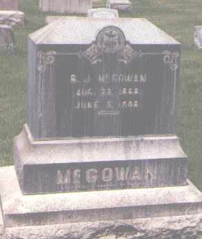 MCGOWAN, B. J. - Jefferson County, Colorado | B. J. MCGOWAN - Colorado Gravestone Photos