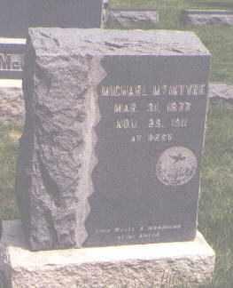 MCINTYRE, MICHAEL - Jefferson County, Colorado | MICHAEL MCINTYRE - Colorado Gravestone Photos