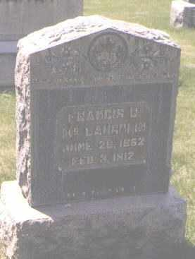 MCLAUGHLIN, FRANCIS B. - Jefferson County, Colorado | FRANCIS B. MCLAUGHLIN - Colorado Gravestone Photos
