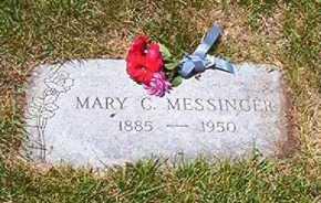 HUGHES MESSENGER, MARY CECELIA - Jefferson County, Colorado | MARY CECELIA HUGHES MESSENGER - Colorado Gravestone Photos