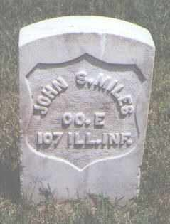 MILES, JOHN S. - Jefferson County, Colorado | JOHN S. MILES - Colorado Gravestone Photos