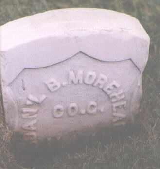 MOREHEAD, DANIEL B. - Jefferson County, Colorado | DANIEL B. MOREHEAD - Colorado Gravestone Photos