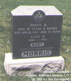 MORRIS, LEWIS R. - Jefferson County, Colorado | LEWIS R. MORRIS - Colorado Gravestone Photos