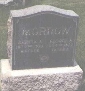 MORROW, GEORGE R. - Jefferson County, Colorado | GEORGE R. MORROW - Colorado Gravestone Photos