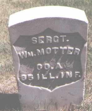 MOTTER, WILLIAM - Jefferson County, Colorado | WILLIAM MOTTER - Colorado Gravestone Photos
