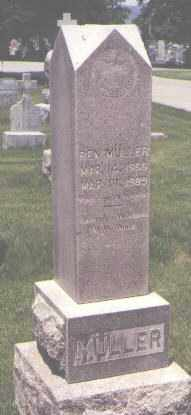 MULLER, BEN - Jefferson County, Colorado | BEN MULLER - Colorado Gravestone Photos