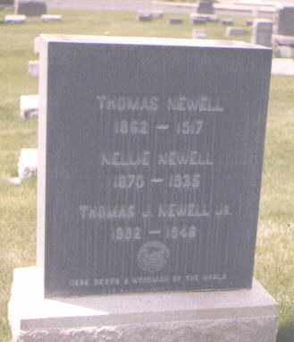 NEWELL, THOMAS - Jefferson County, Colorado | THOMAS NEWELL - Colorado Gravestone Photos