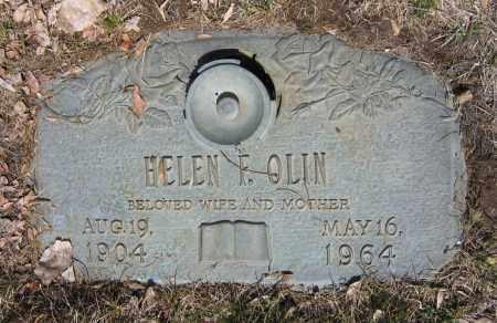 OLIN, HELEN FRIEDA - Jefferson County, Colorado | HELEN FRIEDA OLIN - Colorado Gravestone Photos