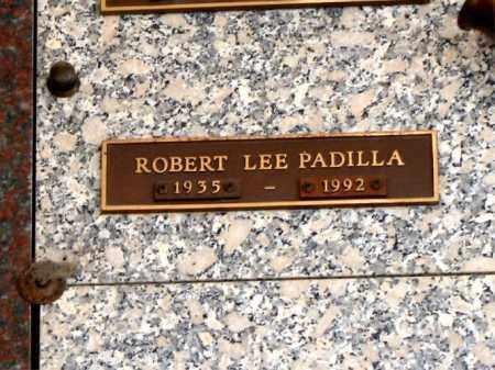 PADILLA, ROBERT - Jefferson County, Colorado | ROBERT PADILLA - Colorado Gravestone Photos