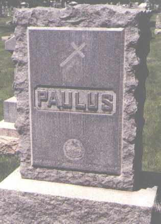 PAULUS, LOUIS N. - Jefferson County, Colorado | LOUIS N. PAULUS - Colorado Gravestone Photos