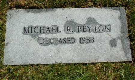 PEYTON, MICHAEL ROBERT - Jefferson County, Colorado | MICHAEL ROBERT PEYTON - Colorado Gravestone Photos