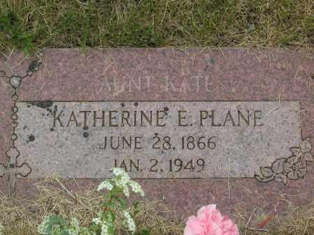 WALSH PLANE, KATHERINE E. - Jefferson County, Colorado | KATHERINE E. WALSH PLANE - Colorado Gravestone Photos