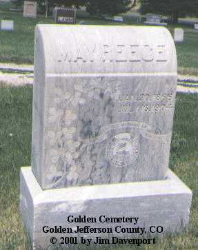 REECE, MAY - Jefferson County, Colorado   MAY REECE - Colorado Gravestone Photos