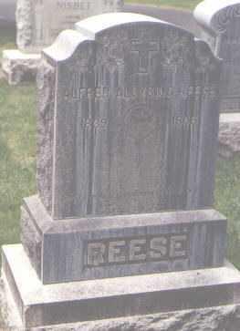 REESE, ALFRED ALOYSIUS - Jefferson County, Colorado   ALFRED ALOYSIUS REESE - Colorado Gravestone Photos