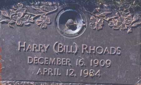 RHOADS, HARRY (BILL) - Jefferson County, Colorado | HARRY (BILL) RHOADS - Colorado Gravestone Photos