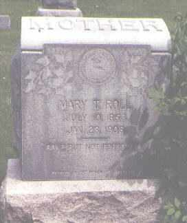 ROLL, MARY T. - Jefferson County, Colorado | MARY T. ROLL - Colorado Gravestone Photos