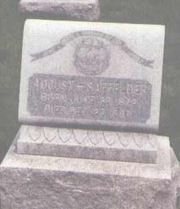 SAFFELDER, AUGUST H. - Jefferson County, Colorado | AUGUST H. SAFFELDER - Colorado Gravestone Photos