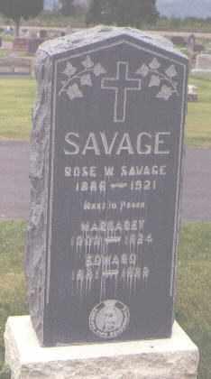SAVAGE, EDWARD - Jefferson County, Colorado | EDWARD SAVAGE - Colorado Gravestone Photos