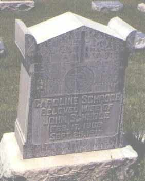 SCHRODE, CAROLINE - Jefferson County, Colorado | CAROLINE SCHRODE - Colorado Gravestone Photos