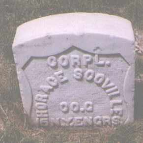 SCOVILLE, HORACE - Jefferson County, Colorado | HORACE SCOVILLE - Colorado Gravestone Photos