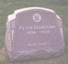SEBASTIAN, PETER - Jefferson County, Colorado | PETER SEBASTIAN - Colorado Gravestone Photos