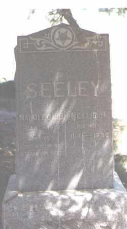 SEELEY, NAPOLEON B. - Jefferson County, Colorado | NAPOLEON B. SEELEY - Colorado Gravestone Photos