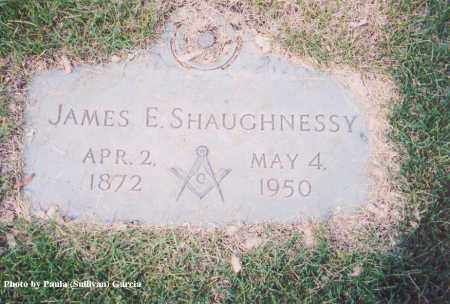 SHAUGHNESSY, JAMES E. - Jefferson County, Colorado | JAMES E. SHAUGHNESSY - Colorado Gravestone Photos