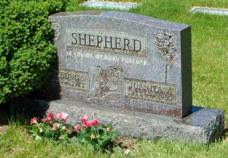 FITZGERALD SHEPHERD, JUANITA A. - Jefferson County, Colorado | JUANITA A. FITZGERALD SHEPHERD - Colorado Gravestone Photos