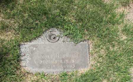 SMITH, KATE H - Jefferson County, Colorado   KATE H SMITH - Colorado Gravestone Photos
