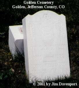 SNYDER, ANNIE C. - Jefferson County, Colorado   ANNIE C. SNYDER - Colorado Gravestone Photos