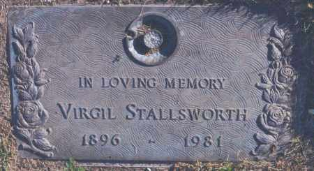 STALLSWORTH, VIRGIL - Jefferson County, Colorado | VIRGIL STALLSWORTH - Colorado Gravestone Photos