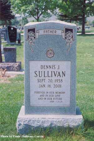 SULLIVAN, DENNIS J. - Jefferson County, Colorado   DENNIS J. SULLIVAN - Colorado Gravestone Photos