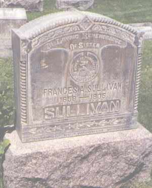SULLIVAN, FRANCES A. - Jefferson County, Colorado | FRANCES A. SULLIVAN - Colorado Gravestone Photos