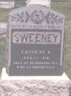 SWEENEY, CATHERINE A. - Jefferson County, Colorado   CATHERINE A. SWEENEY - Colorado Gravestone Photos