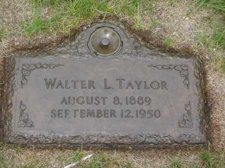 TAYLOR, WALTER LILLY - Jefferson County, Colorado | WALTER LILLY TAYLOR - Colorado Gravestone Photos