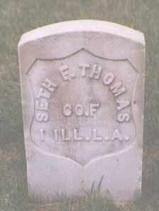 THOMAS, SETH F. - Jefferson County, Colorado | SETH F. THOMAS - Colorado Gravestone Photos