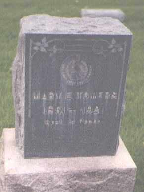 TOWERS, MARY E. - Jefferson County, Colorado | MARY E. TOWERS - Colorado Gravestone Photos