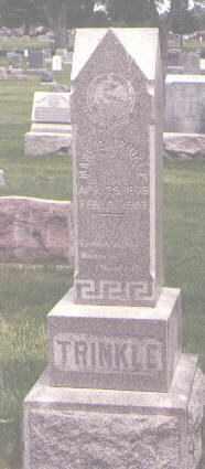 TRINKLE, MARY E. - Jefferson County, Colorado | MARY E. TRINKLE - Colorado Gravestone Photos