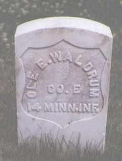 WALDRUM, OLE E. - Jefferson County, Colorado   OLE E. WALDRUM - Colorado Gravestone Photos