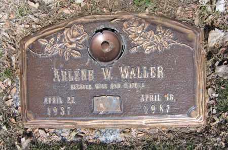 WALLER, ARLENE WYONA - Jefferson County, Colorado | ARLENE WYONA WALLER - Colorado Gravestone Photos