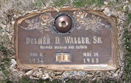 WALLER, DELMER D. - Jefferson County, Colorado | DELMER D. WALLER - Colorado Gravestone Photos