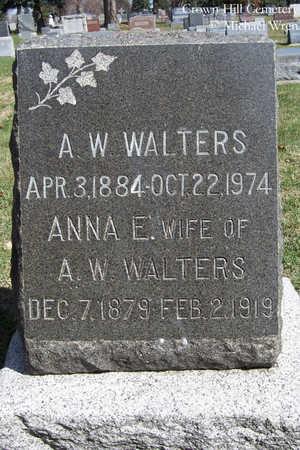 WREN WALTERS, ANNA E. - Jefferson County, Colorado | ANNA E. WREN WALTERS - Colorado Gravestone Photos
