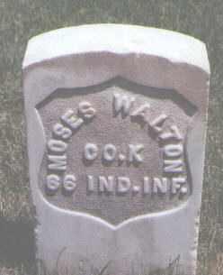 WALTON, MOSES - Jefferson County, Colorado   MOSES WALTON - Colorado Gravestone Photos